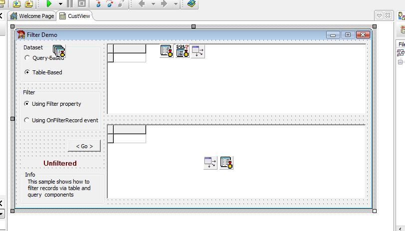 Filter Delphi Example