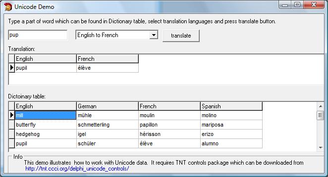 Absolute Database Screenshots