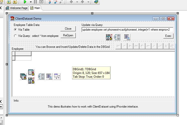 Client Dataset Delphi Example